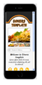 diner restaurant mobile website