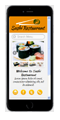 sushi restaurant mobile website
